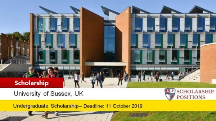 Sussex University UK, 2019 Sports Scholarships Scheme for International Students