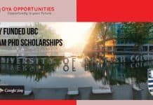 UBC Killam Doctoral Scholarships for International Students in Canada, 2019
