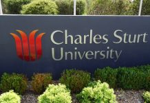 Charles Sturt Regional International award in Australia, 2020