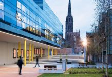 Coventry University Award Tier 2 Scholarship in the UK 2019