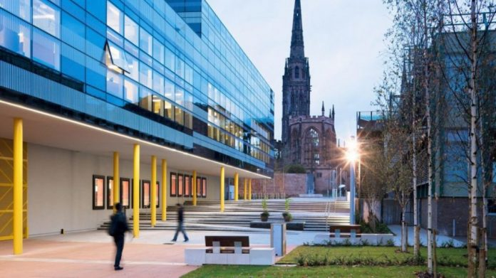 Coventry University Award Tier 2 Scholarship in the UK 2019