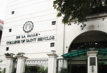 De La Salle-College of Saint Benilde Scholarships in Philippines, 2019