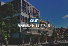 QUT International College English Language Concession Scholarship in Australia, 2019-2020