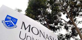 Science International Merit Grant at Monash University in Australia