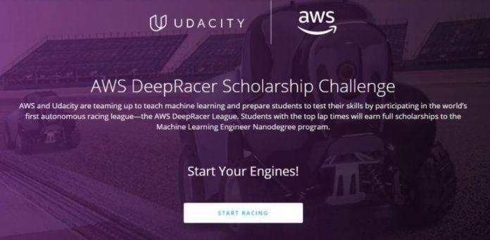 Udacity AWS DeepRacer Scholarship Challenge for International Students