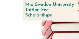 Mid Sweden University Scholarships