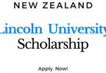 2021 UNIVERSITY OF LINCOLN AFROSCHOLARSHIP