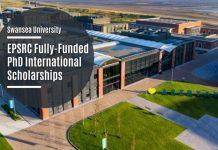 EPSRC CDT PhD Scholarships at Swansea University
