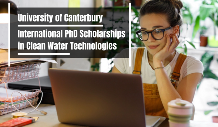 International PhD Positions in Clean Water Technologies
