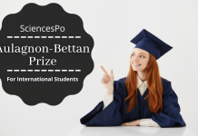 The Aulagnon-Bettan Prize for International Students