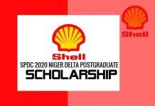 Shell Niger Delta Postgraduate Scholarship 2021
