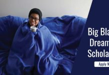 Big Blanket Dream Big Scholarships