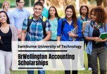 BrWellington Accounting Scholarships at Swinburne University of Technology