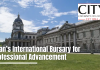 Dean's International Bursary for Professional Advancement at City University of London