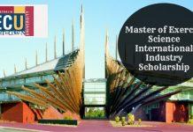 ECU International Masters Programmes in Australia