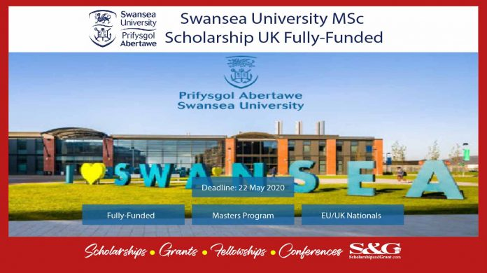 Fully Funded MSc by Research at Swansea: Photocatalysis Applications