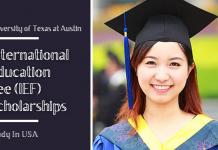International Education Fee (IEF) Scholarships