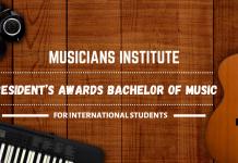 International President's Awards Bachelor of Music in Performance Studies