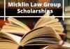 Micklin Law Group Undergraduate Financial Aid