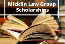 Micklin Law Group Undergraduate Financial Aid