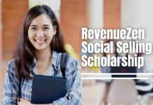 RevenueZen Social Selling International Scholarship