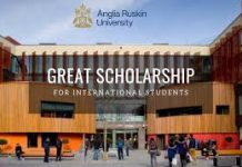 Sustainable Future GREAT Scholarships for Turkey and Vietnam Students at Anglia Ruskin University, UK