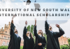University of New South Wales International Scholarships