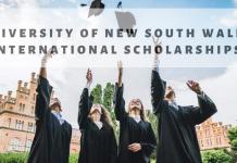 University of New South Wales International Scholarships