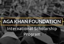 Aga Khan Foundation International Scholarships