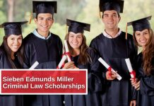 Sieben Edmunds Miller Criminal Law Scholarships