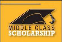 Middle-Class Scholarship (MCS) 2021