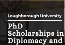 PhD Positions in Diplomacy and International Governance, UK