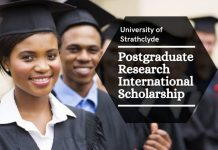 Postgraduate Research International Scholarship in Optimized Manufacturing Through Physics Based Models, UK